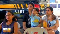 PRF e Detran realizam palestra na Semana Nacional do Trânsito em Caxias