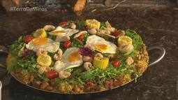 Arroz de porco tem sotaque mineiro e foi inspirado na cozinha portuguesa