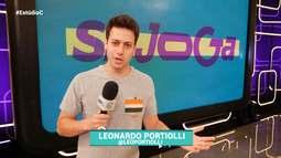 Bloco 3: Leo Portiolli confere os bastidores do programa 'Se Joga'