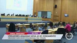 Câmara de São José vota nova Lei de Zoneamento em sessão extraordinária nesta terça