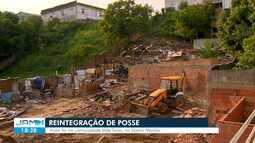Polícia faz reintegração de posse em terreno na Zona Norte de Manaus