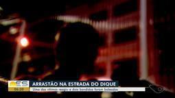 Criminosos são baleados em arrastão em Vila Velha, ES