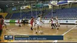 Araraquara perde para Sorocaba pelo Paulista Feminino de Basquete