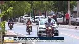 PRF recuperou 261 veículos roubados até o início do outubro pelo Piauí