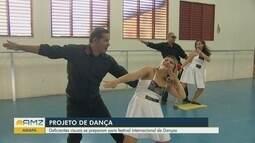 No Amapá, deficientes visuais participarão de competição internacional de dança