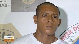 Homem é preso suspeito de participação em duplo homicídio em Manaus