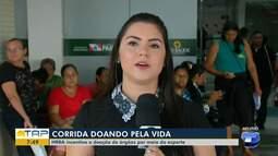 Corrida 'Doando pela vida' incentiva doação de órgãos no oeste do Pará