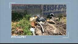 Moradores denunciam falta de coleta de lixo em vários bairros de João Pessoa