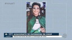 Assassinato de enfermeira: polícia investiga motivação