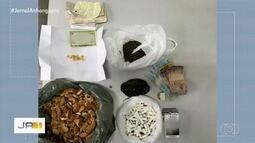 Jovem é presa suspeita de enviar 'rosquinha de crack' para companheiro detido em presídio