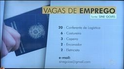Veja vagas de emprego disponívies em Goiás