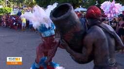 Batalha folclórica do Lambe-sujo é realizada em Laranjeiras