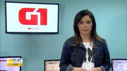 Joelma Gonçalves conta os destaques do G1 Sergipe