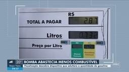 Operação investiga dispositivos que adulteravam quantidade de gasolina em postos de SC