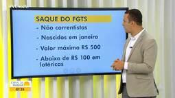 Depósitos automáticos do FGTS para não correntistas da Caixa começam nesta sexta-feira