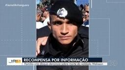 Família de vítima oferece recompensa a quem der informações sobre crime, em Goiás