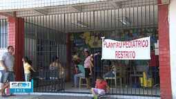 Pediatria lotada do Hospital Santa Izabel provoca reclamação