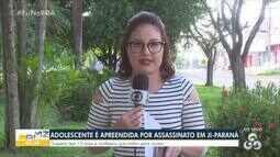 Adolescente é apreendida por homicídio em Ji-Paraná