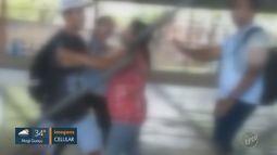 Aluno de escola estadual é suspenso após empurrar professora em Americana