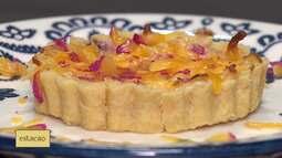 Aprenda a fazer um quiche de queijo do reino