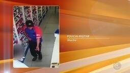 Jovem é preso suspeito de roubar dinheiro de farmácia em Marília; vídeo