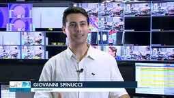 Giovanni Spinucci fala da experiência que foi apresentar o Jornal Nacional
