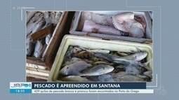 Mais de 400 quilos de pescado proibido para captura são apreendidos em Santana