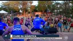 Clube da Ginástica movimenta Parque Lagoas do Norte