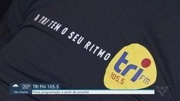 Nova programação da Rádio Tri FM começa a partir desta terça-feira (3)