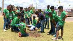 Projeto auxilia na educação ambiental de crianças e adolescentes do oeste baiano
