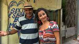 Maria Menezes conhece os artistas da Avenida San Martin