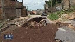 Bombeiros encontram corpo do homem que desapareceu durante temporal em Ibirité