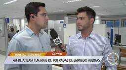 PAT de Atibaia está com mais de 100 vagas de emprego abertas