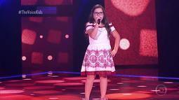 Myrella Fernanda canta 'Era Uma Vez' nas Audições às Cegas