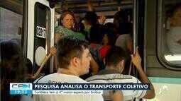 Pesquisa revela que Fortaleza é a quarta cidade do país em demora na espera do ônibus