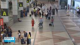 Aeroporto de Salvador adota medidas de segurança para evitar casos de coronavírus
