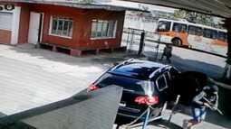 Tentativa de assalto a carro forte em Itaquaquecetuba