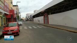 Lojas do comércio estão fechadas em Petrolina