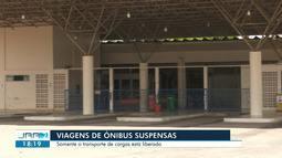 Viagens de ônibus estão suspensas em Roraima