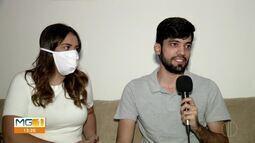 Por causa da pandemia do coronavírus, casamentos tiveram que ser remarcados