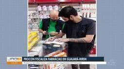 Procon fiscaliza farmácias em Guajará-Mirim