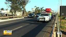 Outro acidente complica trânsito na Grande Goiânia