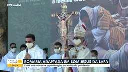 Ruas de Bom Jesus da Lapa ficam vazias na tradicional romaria, pela 1ª vez em 327 anos