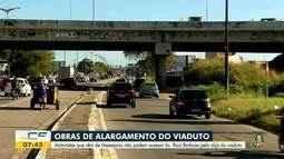 Alça de acesso à Raul Barbosa está bloqueada