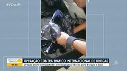 PF deflagra a 2ª fase da operação 'Olossá', que combate o tráfico internacional de drogas