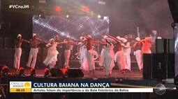 Bailarinos fazem mutirão para recuperar a sede do Balé Folclórico da Bahia