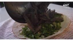 Líbano   Combo: Shawarma + doce libanês - Ricardo Hamdan   Minas é o Mundo