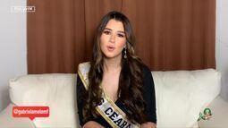 Miss Ceará Gabriela Melo fala sobre o desafio de carregar a faixa