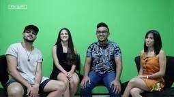 Daniel Viana fala com a galera do filme Se Ela Dança Eu Manco