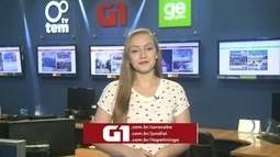 Júlia Martins traz os destaques do G1 no TEM Notícias desta terça-feira
